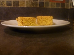 Moist corn bread + corn bread stuffing
