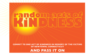 Spreading light, one act of kindness at a time