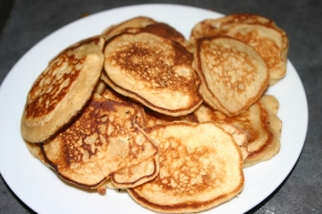 Pancakes for break the fast