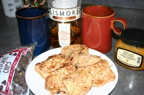 Cold's Antidote: Hot Toddy & Chocolate Chip Pancakes