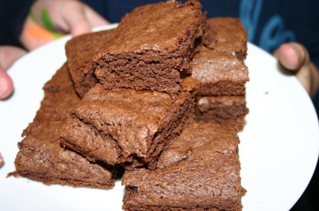 Moosewood Brownies, 2 ways