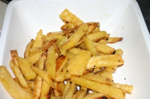 Rutabaga fries