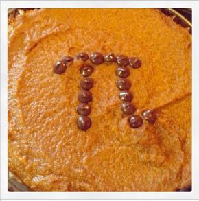 "Pumpkin ""Pi"" Day"