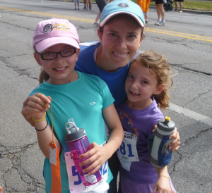 In 2012 the Race Against Hate was the girls' first official race.