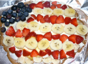 American Pie (aka fruit pizza)