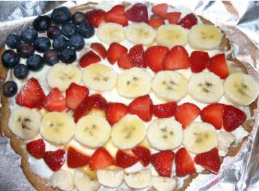 American Pie (aka fruit pizza)