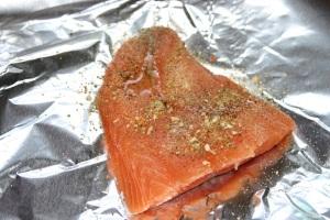 Salmon all ready to go