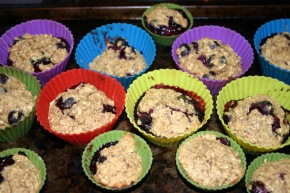 Blueberry Muffins GF