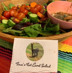 Tina's Fat Lard Salad