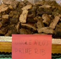 Uncle Rico's Prime Rib