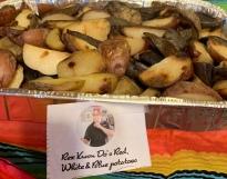 Rex Kwon Do's Red, White & Blue Potatoes